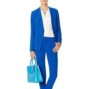 The Limited One Button Brilliant Blue Blazer - L